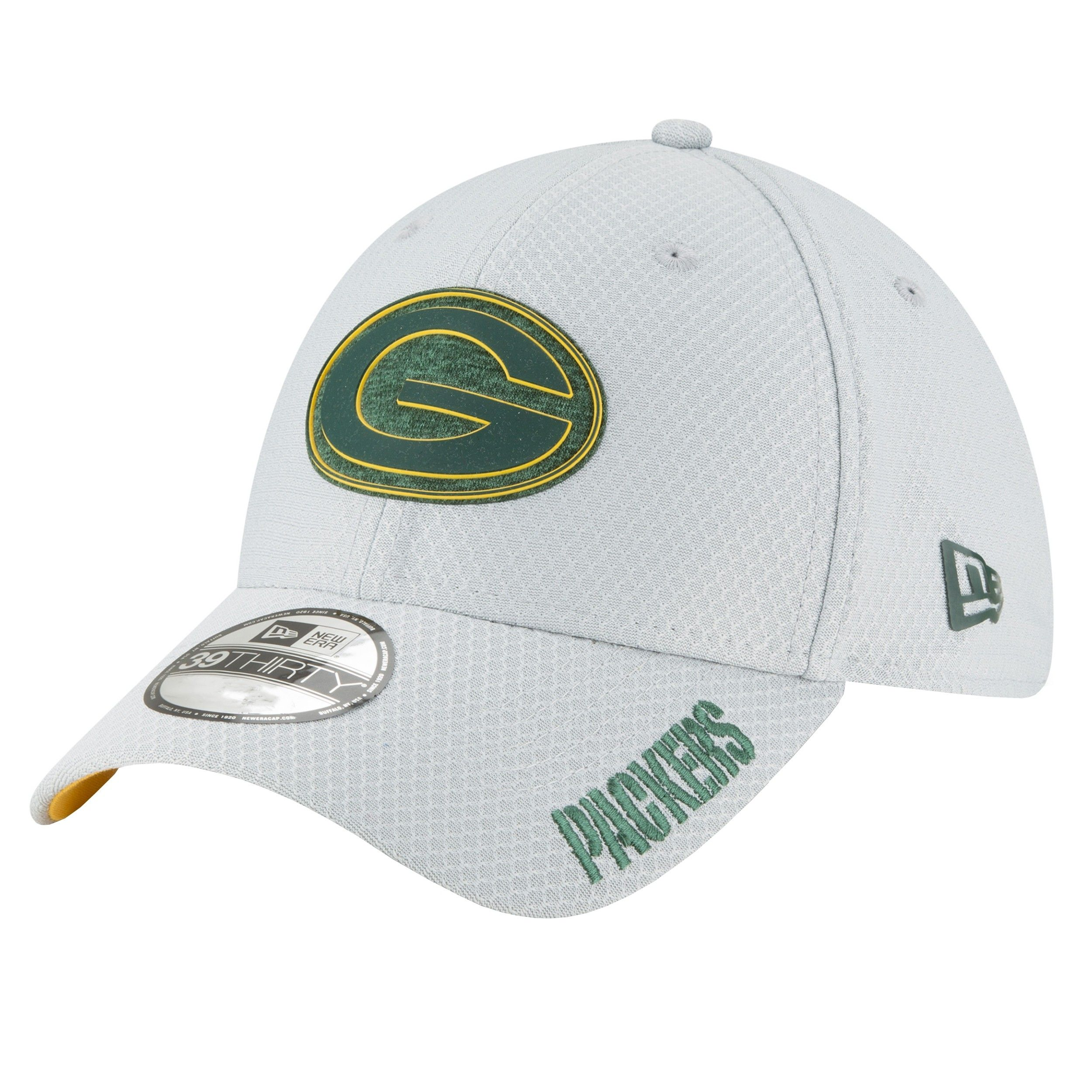 Packers 2018 Youth Official Training 39thirty Cap Green Bay Packers Hat Fitted Hats New Era