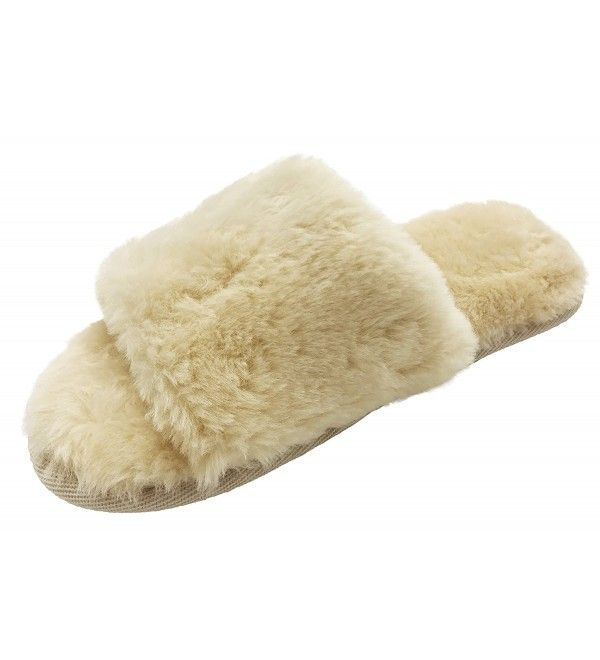 238f56a5fc38 Slippers Socks Slide Slipper Cozy Womens Mens Soft Warm Winter Indoor Shoes  - Light Brown