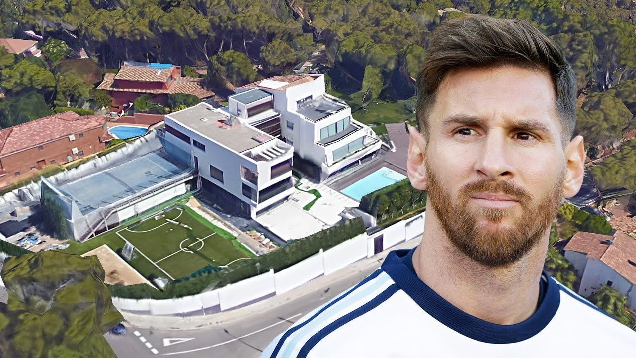 lionel messi 39 s house in barcelona inside outside design 2017 new lionel messi house. Black Bedroom Furniture Sets. Home Design Ideas