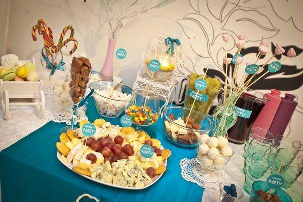 Сладкий стол на день рождения ребенка. Рецепты 2