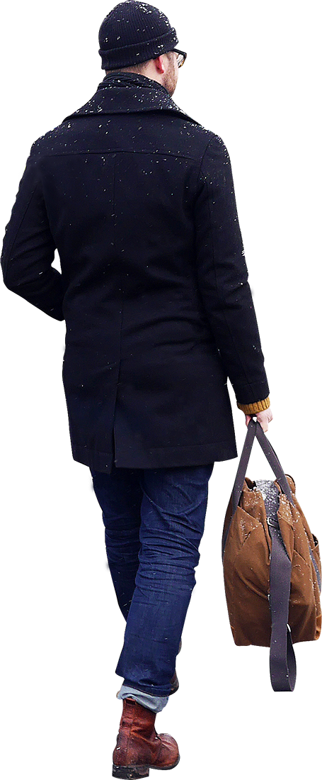 skalgubbar_261_d_walking_with_bag.png (455×1100) | people ...
