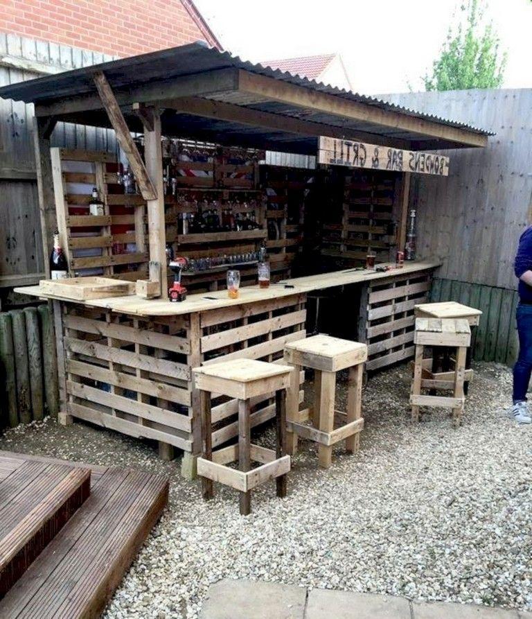 50 Outdoor Bar Ideas For Outdoor Project Diy Garden Bar Bar