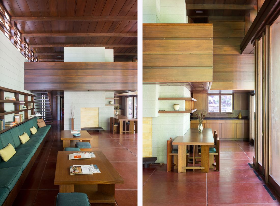 Inside the Frank Lloyd Wright Home That Traveled 1,200