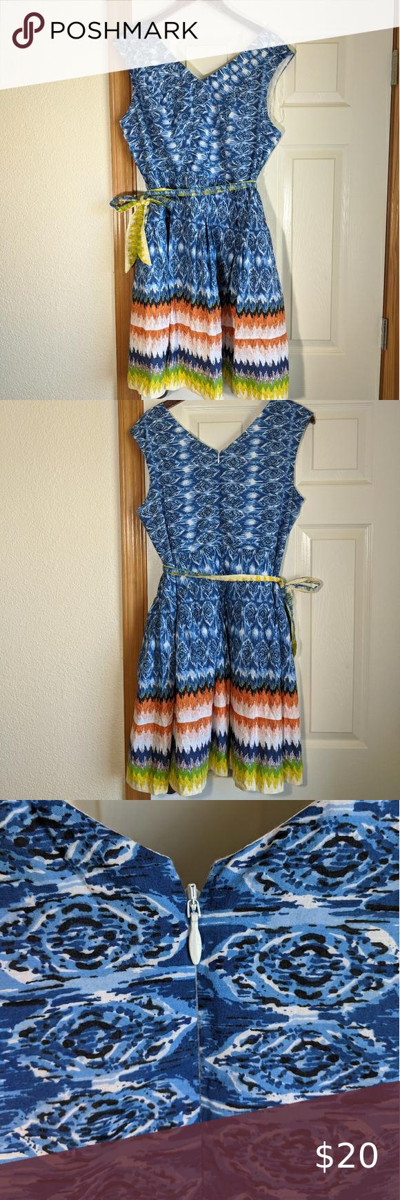 Nwt Dressbarn Fit Flare Dress 16 Fit Flare Dress Flare Dress Dress 16 [ 1740 x 580 Pixel ]