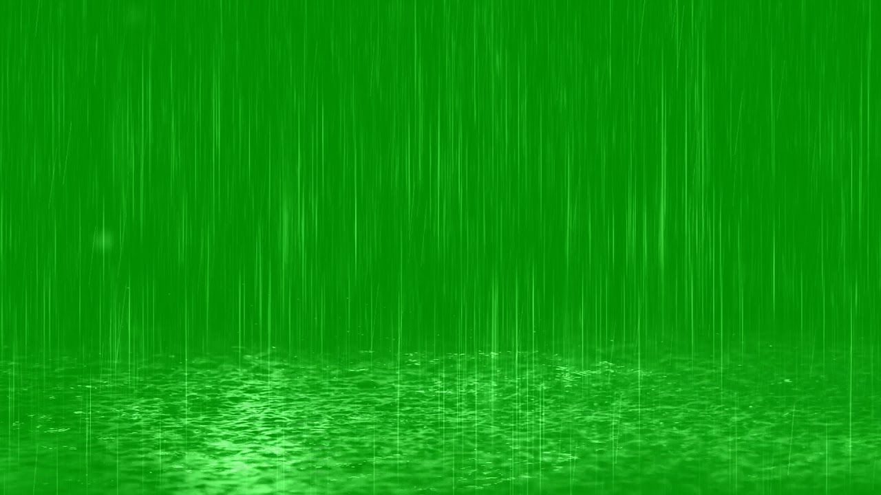 Rain Drops Fall In Puddles Youtube Green Screen Video Backgrounds Green Background Video Green Screen Backgrounds
