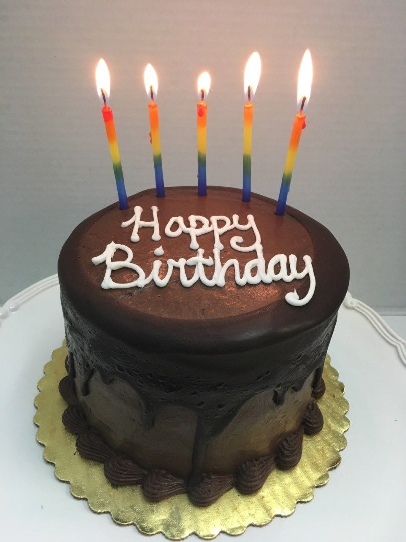 27 Inspired Image Of Happy Birthday Cake Images Moist Chocolate Layer Tall Fort Lauderdale CoolBirthdayCakes