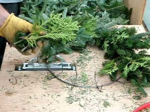 This Is How They Make A Fraser Fir Wreath Videos Gifs And Other