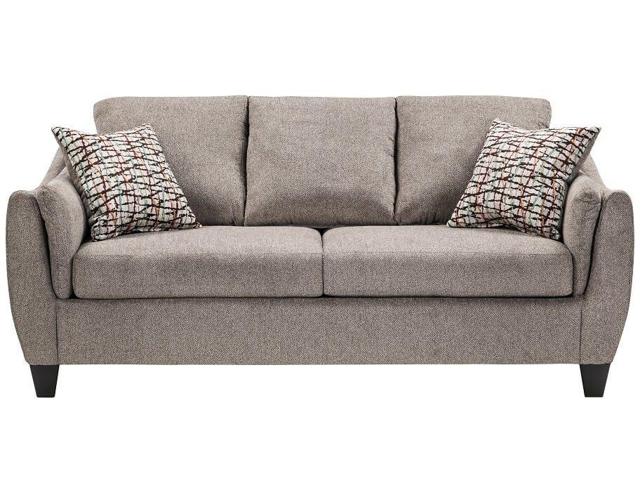 Slumberland Andorra Collection Pewter Sofa Sofa Living Room