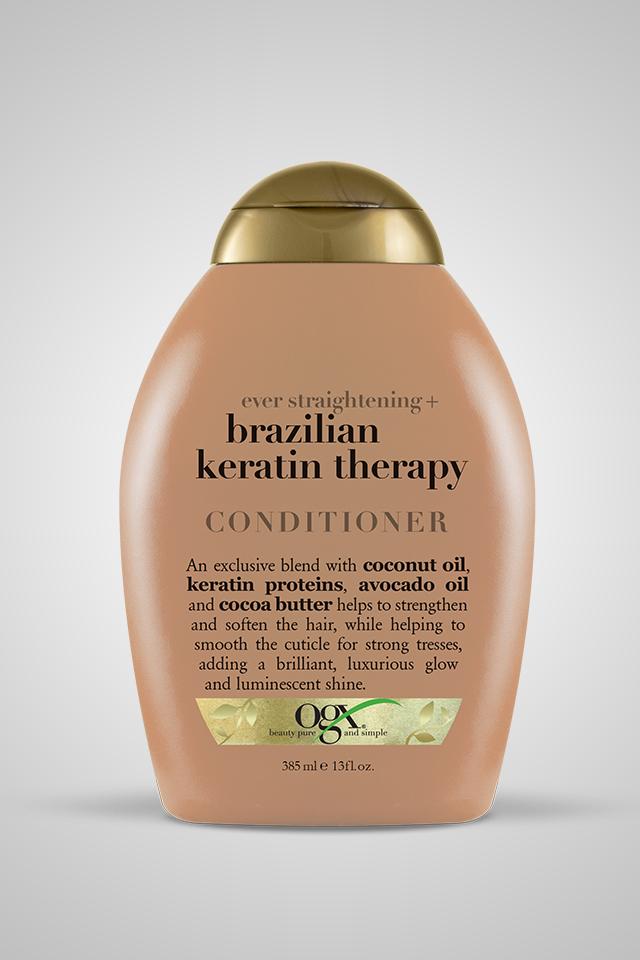 Ever Straight + Brazilian Keratin Therapy Straightening
