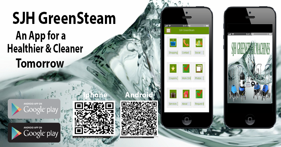 Keep up with SJH GreenSteam download our app today! Get