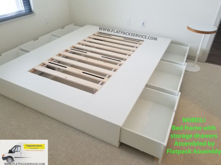 Top 10 Best Ikea Furniture Assembly In Washington Dc Nordli Bed