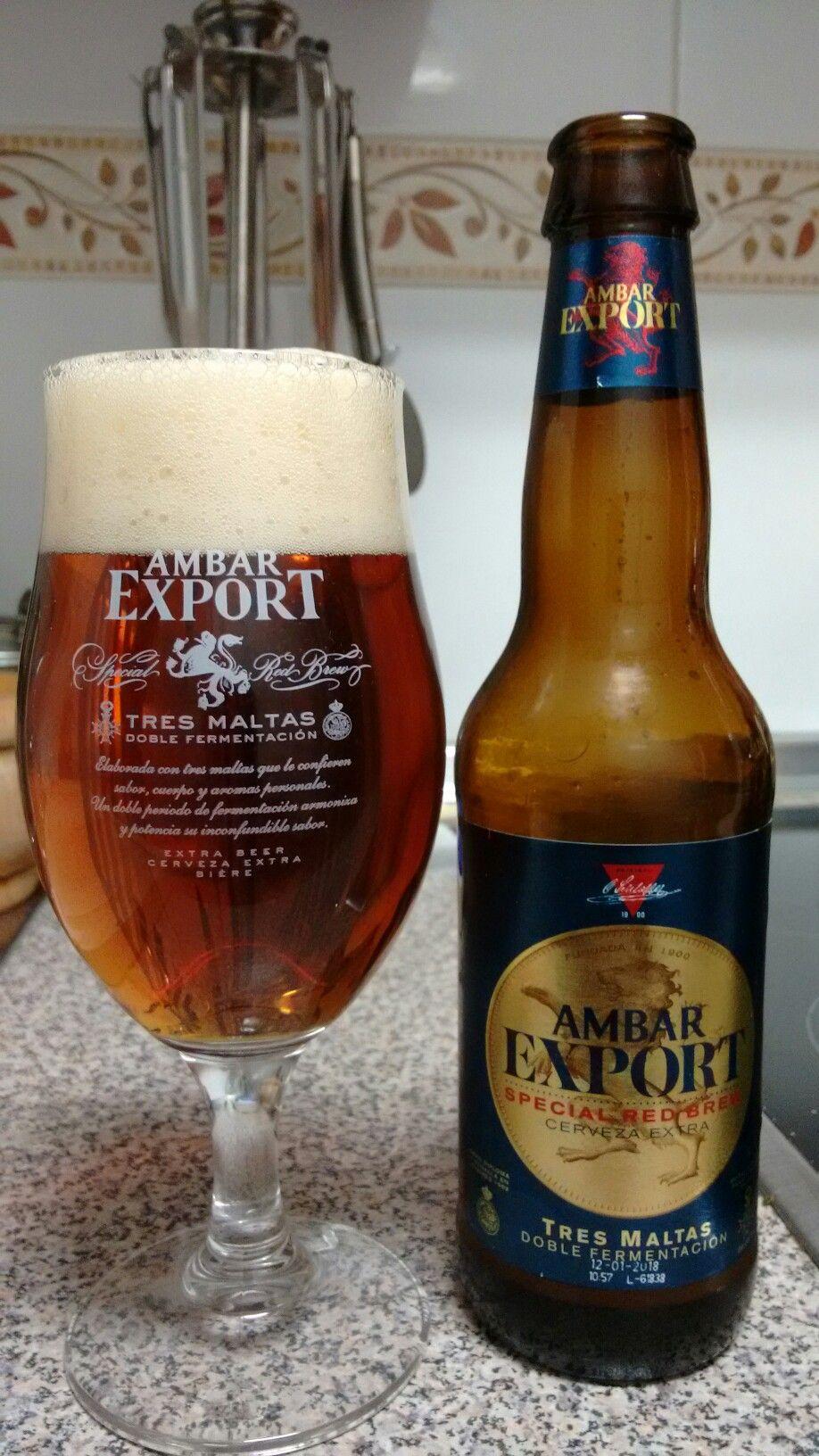 Ambar Export Invita A Disfrutar Sabores Y Aromas Cerveza