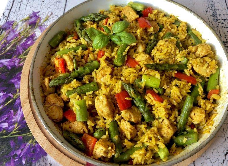 Jednogarnkowy Obiad W 30 Minut Ryż Z Kurczakiem Papryką I