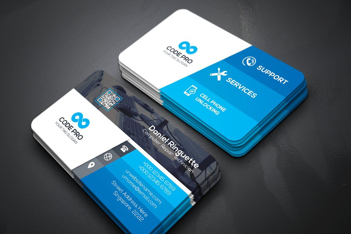 Repair Business Card Multipurpose Business Cards Creative Business Cards Creative Templates Doctor Business Cards
