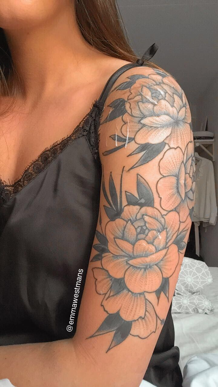 Instaemmawestmans (With images) Shoulder tattoos for
