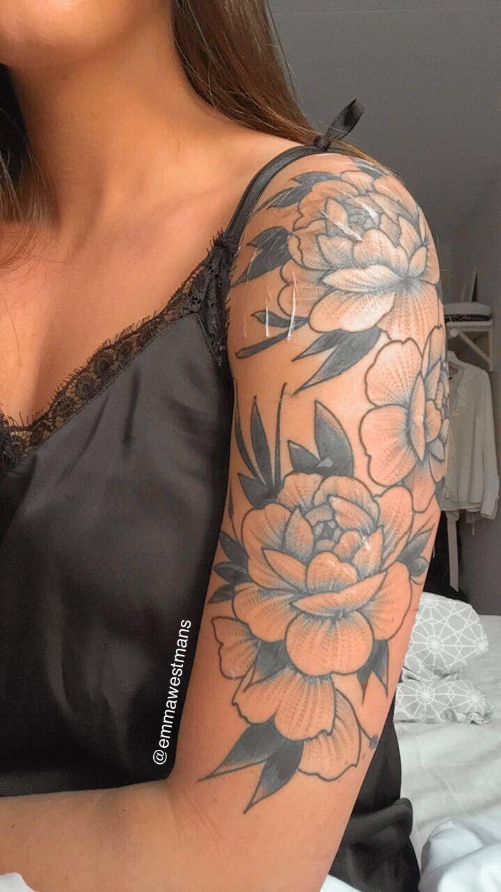 Instaemmawestmans (With images) Shoulder tattoos for