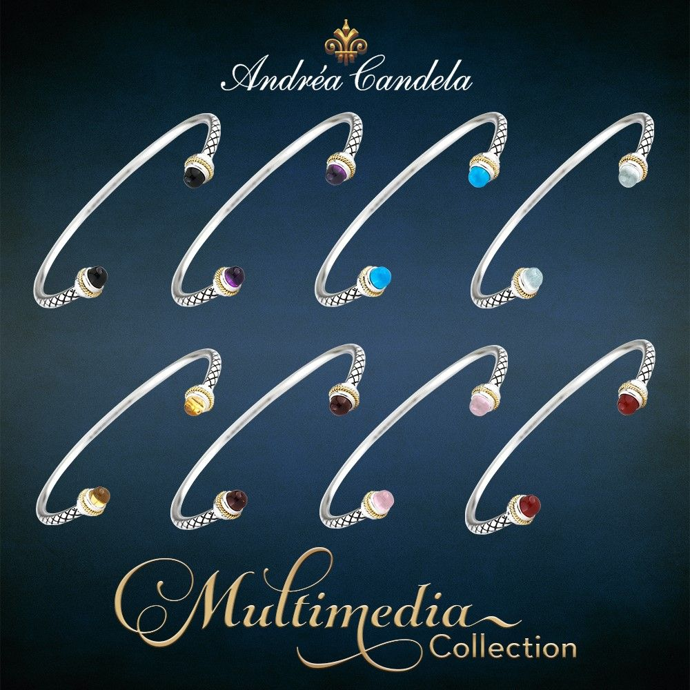 Now you can treat yourself to an Andrea Candela bracelet that will fit your any style.