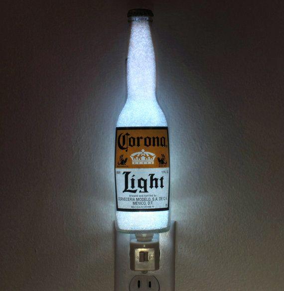 Corona Light Beer 12oz Night Light Bar Light Bottle Lamp Accent Lamp Eco Led Corona Light Beer Corona Light Bottle Lamp
