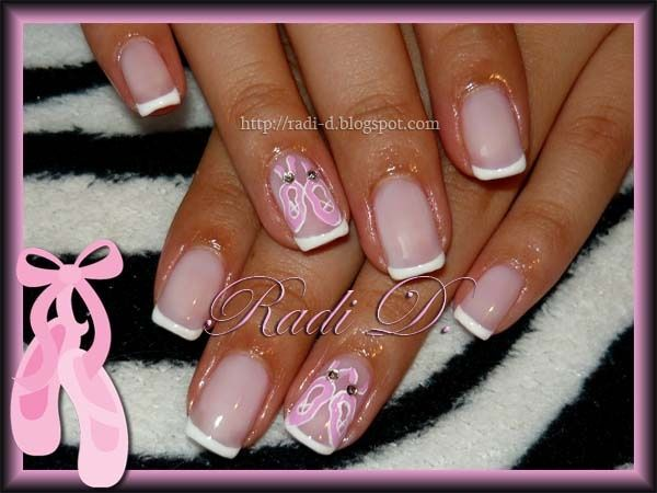 Ballet shoes - Nail Art Gallery by NAILS Magazine