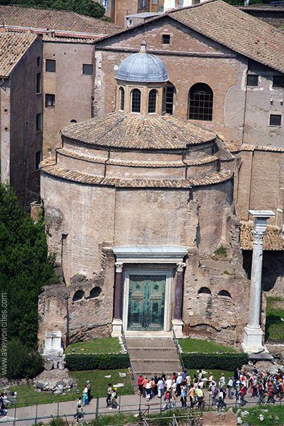 Temple of Divus Romulus, Forum Romanum