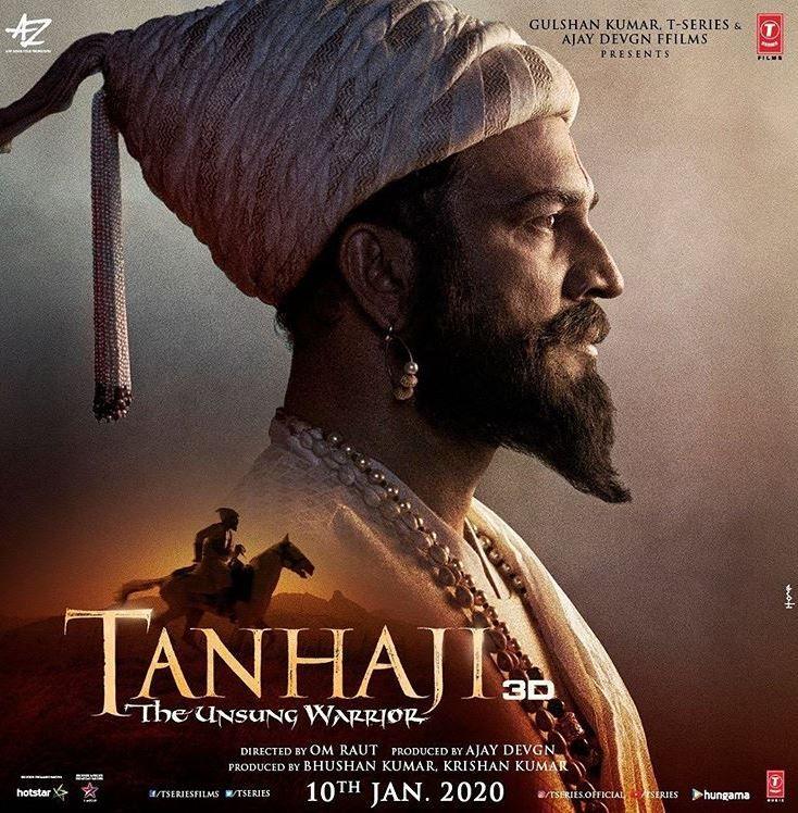 Sarad Kelkar as Shivaji in Tanhaji Warrior movie