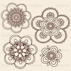 Alfa img Showing Zentangle Flower Template Art Pinterest