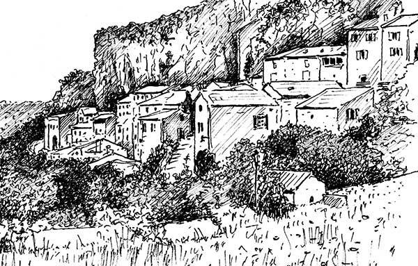Stage d 39 initiation au dessin de paysages croquis - Dessiner un paysage ...