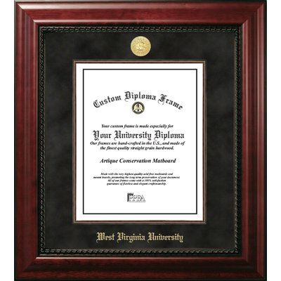 Campus Images West Virginia University 11w X 14h Executive Diploma Frame Wayfair In 2020 Diploma Frame Campus Images Frame