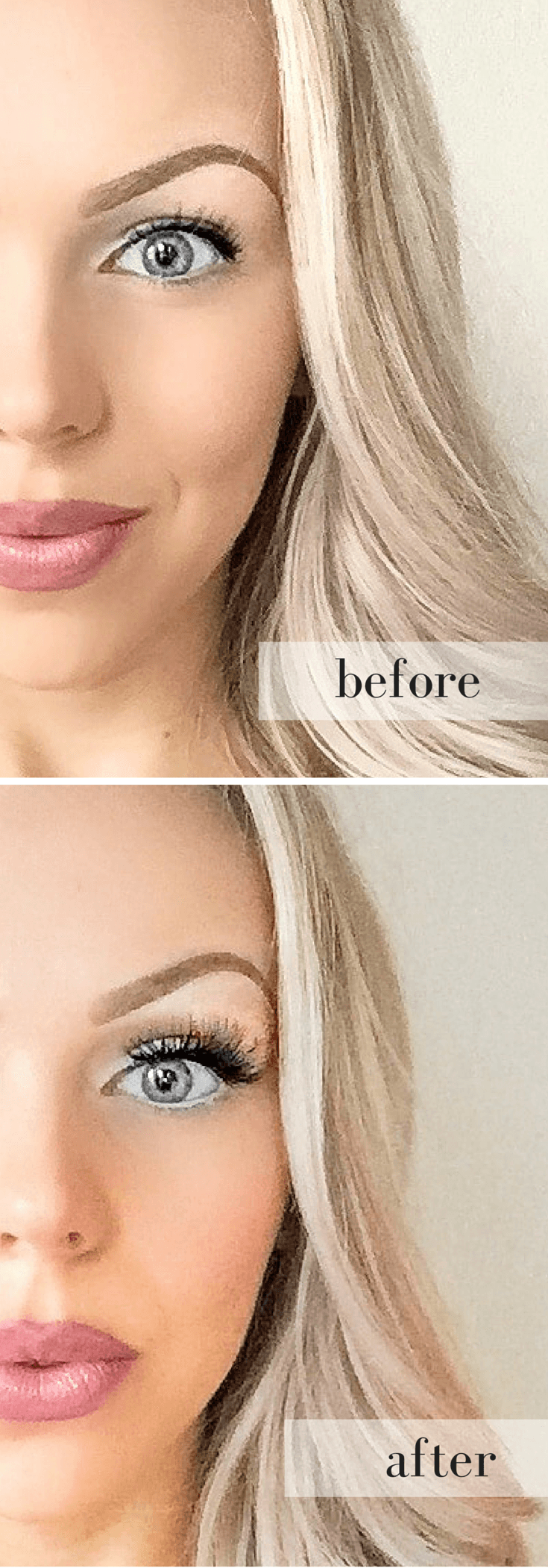 """How to get the """"eyelash extension"""" look with false lashes ..."""