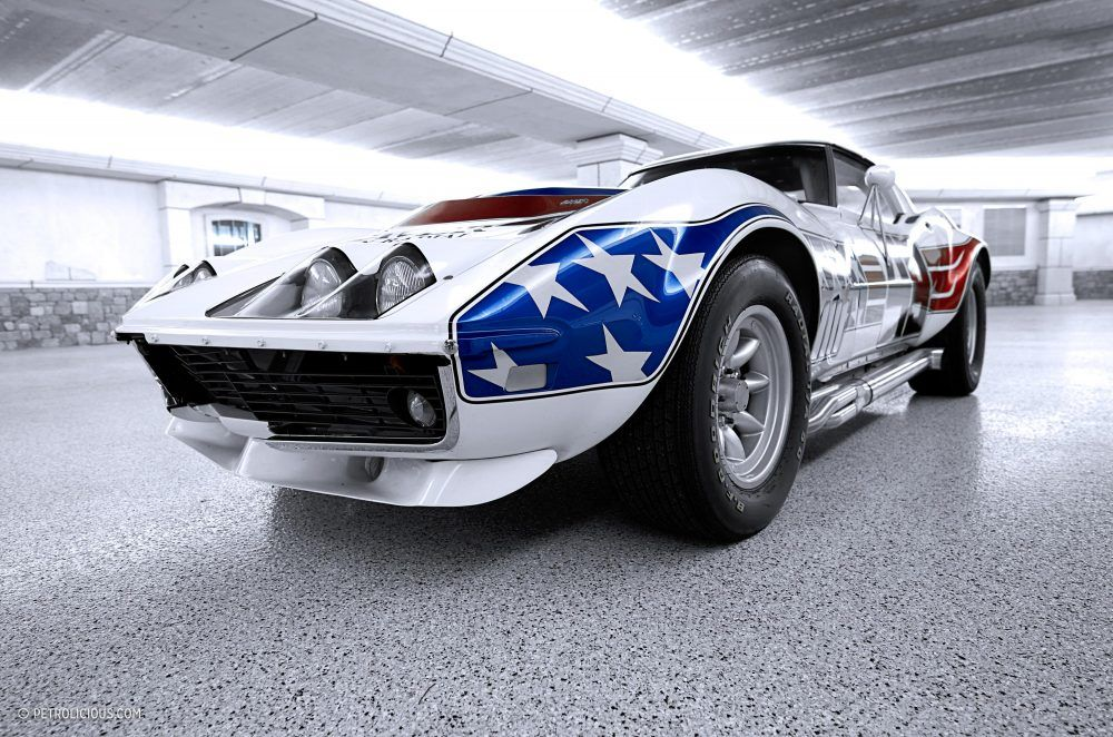 Unabashedly American The Stars And Stripes Greenwood Corvette Tribute Corvette Classic Corvette Corvette Race Car