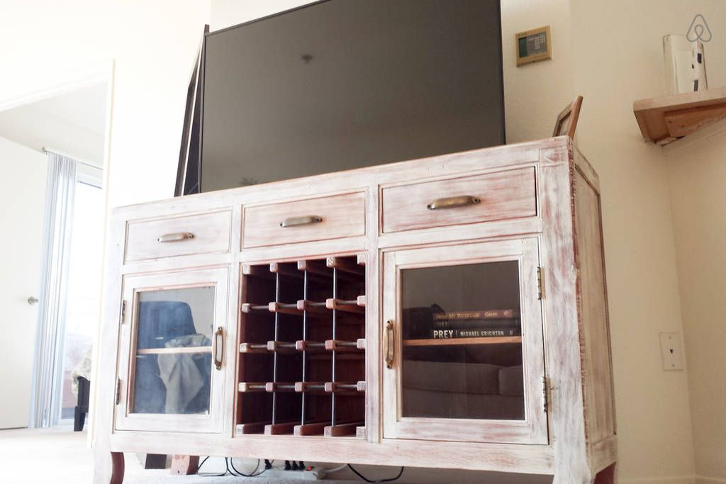 Home Goods Buffet That I Used For My Entertainment Center In This
