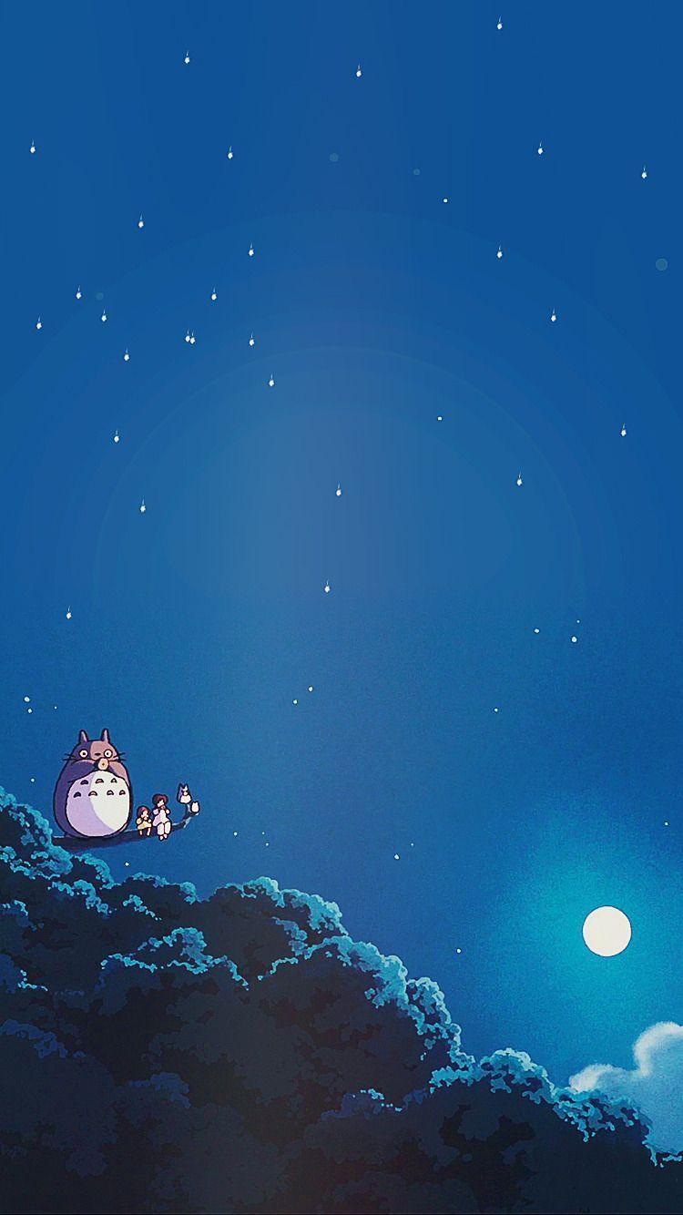 月夜の晩にオカリナ吹いてる 壁紙 ジブリ ジブリ作品 ジブリ