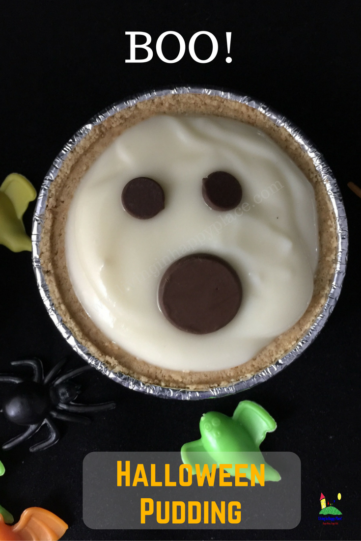 halloween dessert pudding