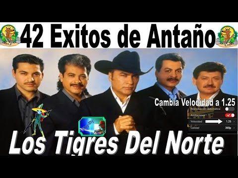 Los Tigres Del Norte 42 Grandes Exitos de Antaño Completos mix - YouTube