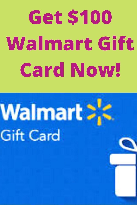 Get 100 walmart gift card now free starbucks gift card