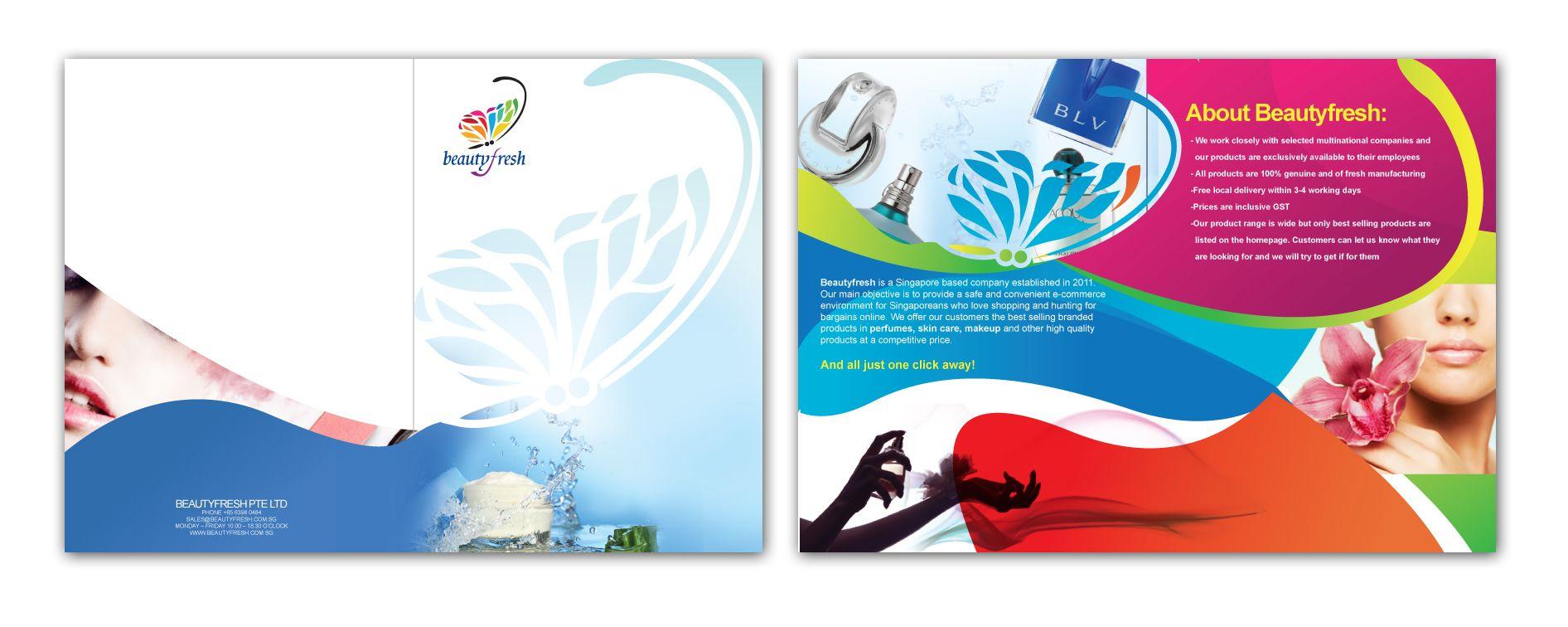 Beauty Fresh Corporate Folder #design #corporate #creative