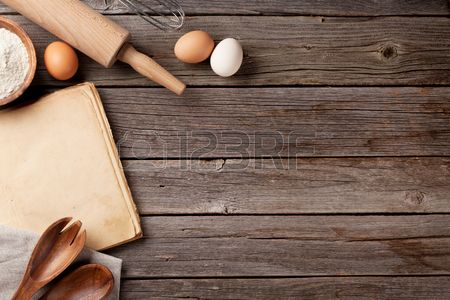 Stock Photo Vintage Recipes Cooking Cooking Ingredients
