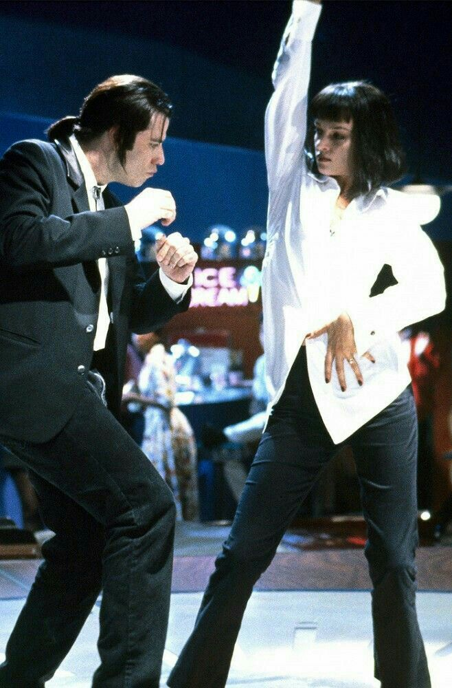 Mia Wallace And Vincent Vega