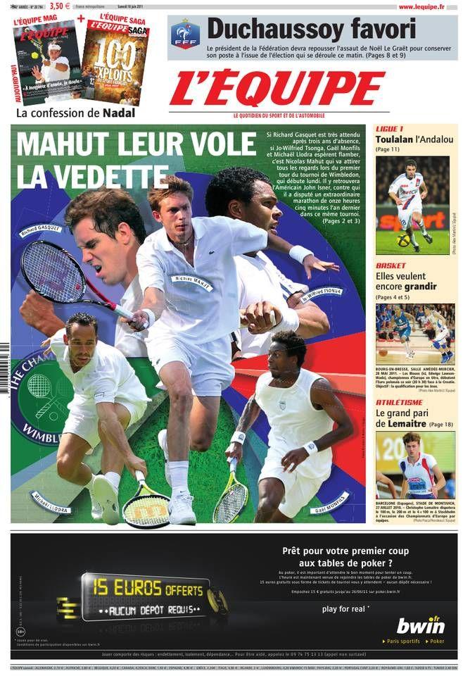 L'Équipe - Samedi 18 Juin 2011 - N° 20794