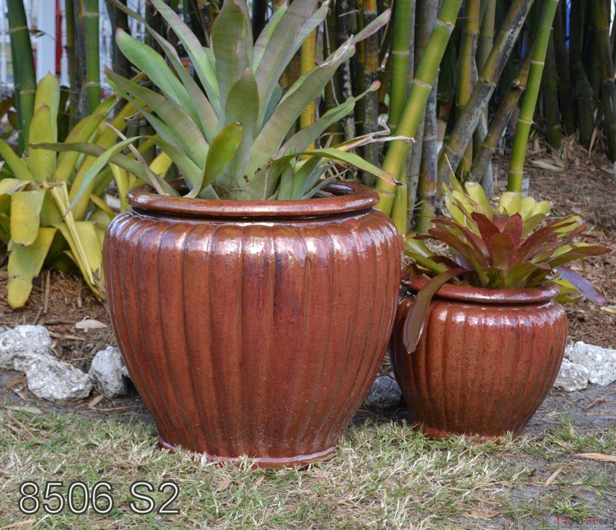 multi colored concrete pots - Google Search   Garden Pots ...