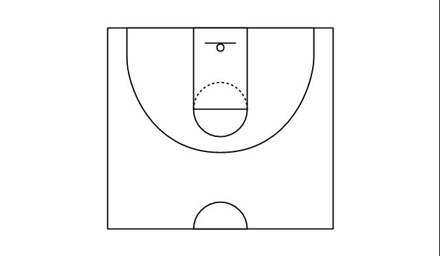 Half Basketball Court Half Basketball Court Basketball