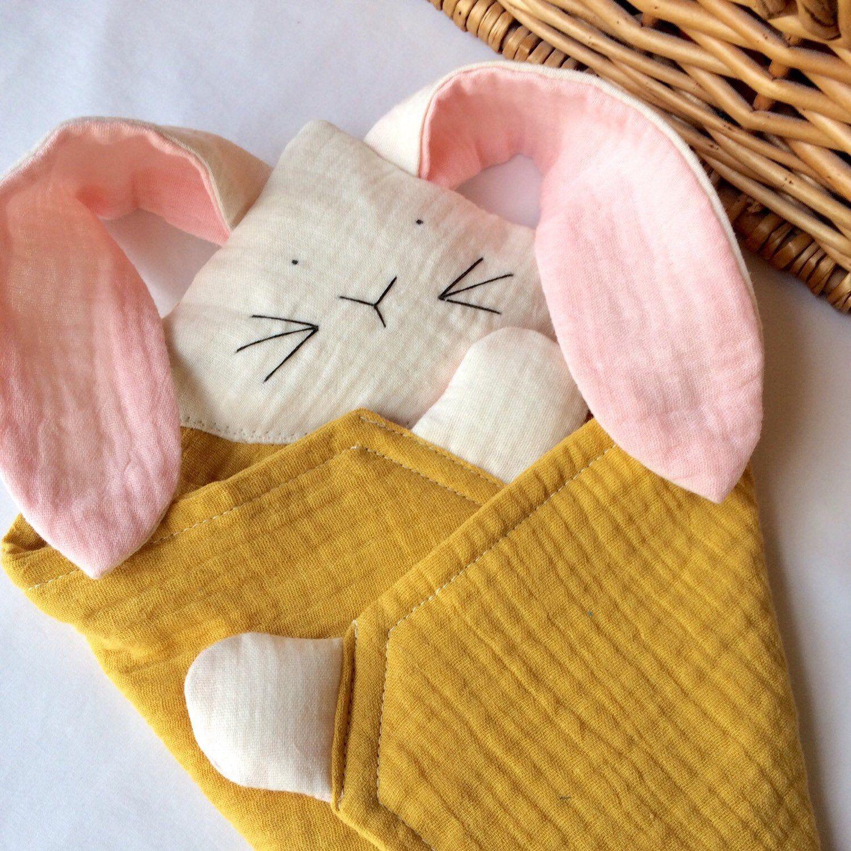 Baby Comfort Blanket Bunny Comforter Newborn Toy Baby Lovey