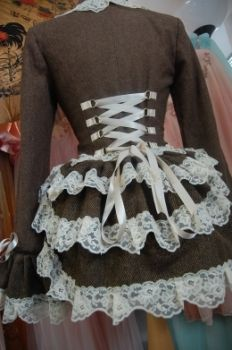 the wanton shepherdess steampunk victorian harris tweed