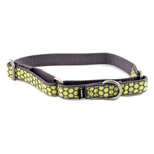 Petsafe Fido Finery Martingalestyle Dog Collar 1inch Medium Dotted Bliss Click Image To Review More Details Note It Is Affiliate Martingale Dog Collar Finery