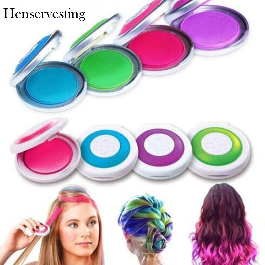 Sunny Day Girls Hair Color Hair Chalk Make Up Tattoo Pretend Play Activity Kit