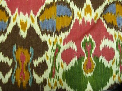 Getting down to it: Ikat Paradise