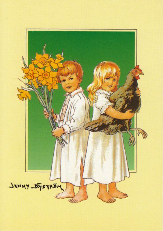 Jenny Nyström - Kaksi lasta. -