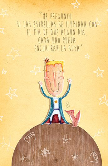 Smile The Little Prince: Ilustreporraquelmoreno: Happy Birthday!! Mr. Principito