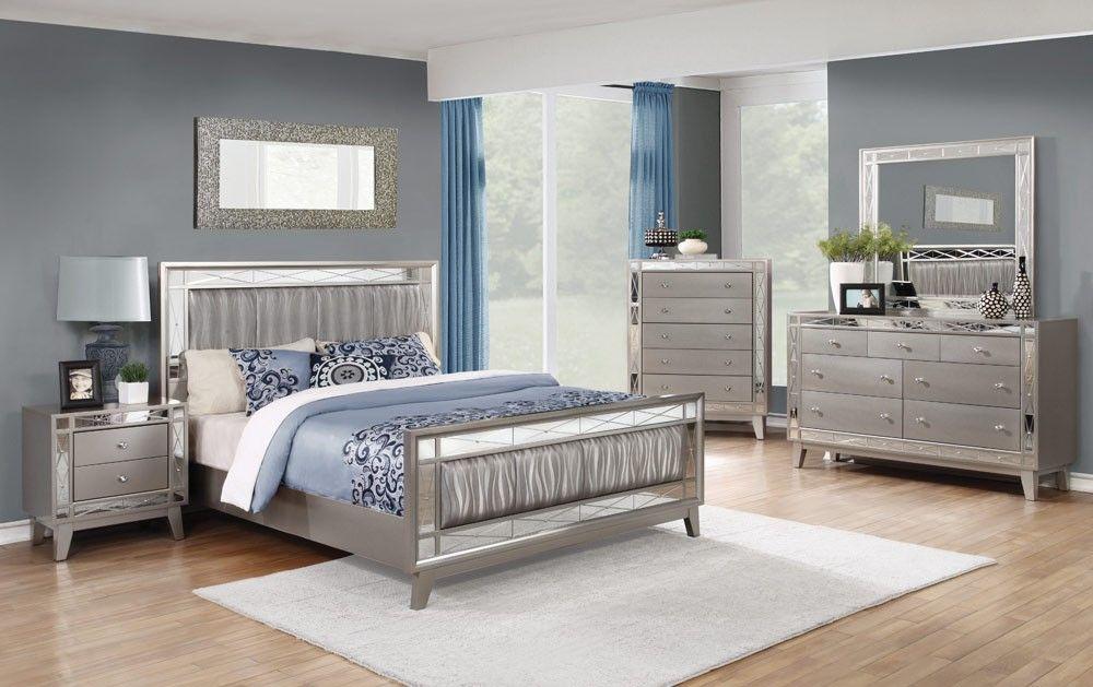 Home Brazia Mirrored Bedroom Furniture Wardrobe Armoire Buy