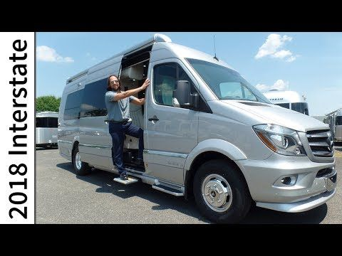 2018 airstream interstate model year improvements extended for Mercedes benz sprinter airstream